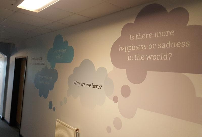 Internal Wall Graphics Brinsworth Academy